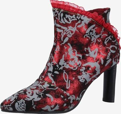 Laura Vita Stiefelette in grau / rot / schwarz, Produktansicht