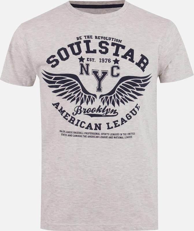 Soulstar Shirt In Wit In Soulstar Soulstar Gemêleerd Shirt Shirt Wit Gemêleerd In Wit roeBdCx