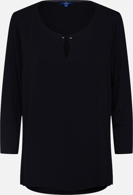 Noir shirt Tom T En Tailor nk0wPO