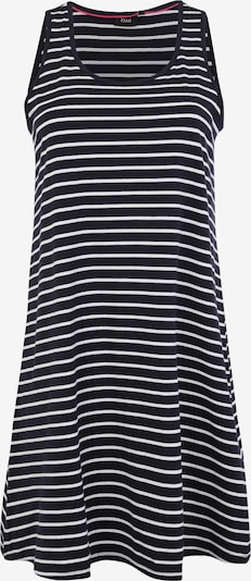 Zizzi Kleid 'MINA' in dunkelblau / weiß, Produktansicht