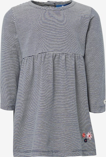 TOM TAILOR Kleid in dunkelblau / weiß, Produktansicht