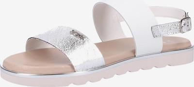 SCAPA Sandalen met riem in de kleur Wit, Productweergave