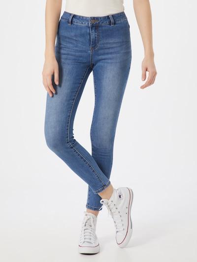 VILA Jeans 'VICOMMIT RWSS 7/8 JEANS/L' in de kleur Blauw denim, Modelweergave
