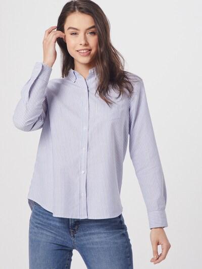 GAP Bluse in hellblau / weiß, Modelansicht