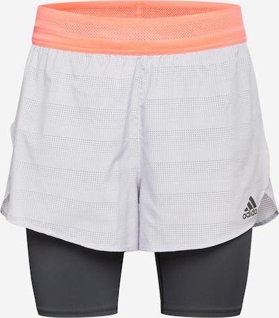 ADIDAS PERFORMANCE Shorts in grau / apricot / schwarz, Produktansicht