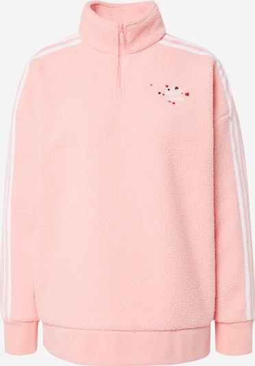 ADIDAS ORIGINALS Sweatshirt in rosa / weiß, Produktansicht