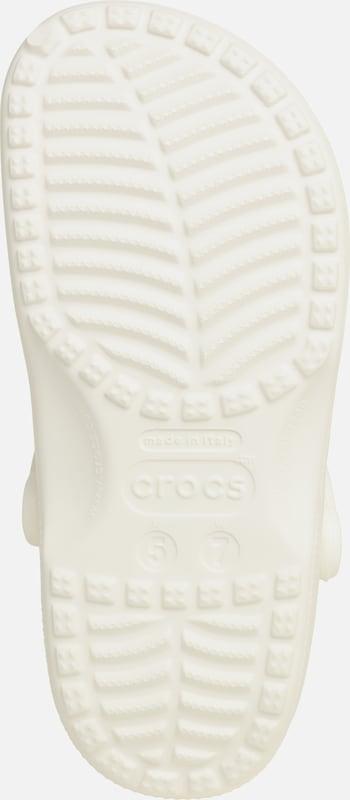 'classic Crocs En Sabots Blanc W' wk8Pn0O