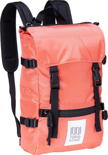 Topo Designs Rucksack in orange, Produktansicht