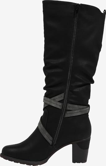 RIEKER Laarzen in de kleur Zwart: Zijaanzicht