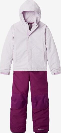 COLUMBIA Schneeanzug in lila / weiß, Produktansicht