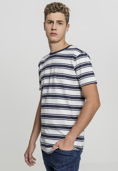 Urban Classics Tee in navy / offwhite: Frontalansicht
