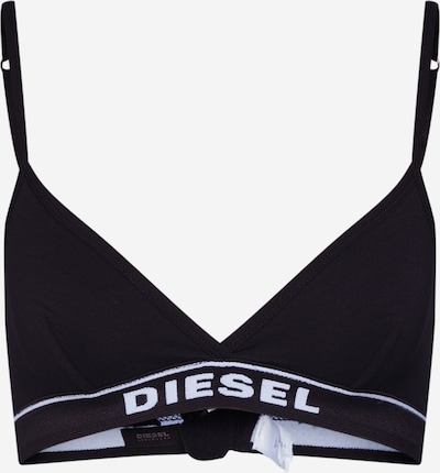 DIESEL Bra 'UFSB-LIZZY' in Black / White, Item view
