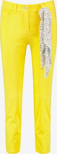 GERRY WEBER Jeans in de kleur Geel / Gemengde kleuren, Productweergave