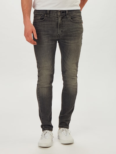 LEVI'S Jeans '519™ EXT SKINNY HI-BALL B' in grey denim, Modelansicht