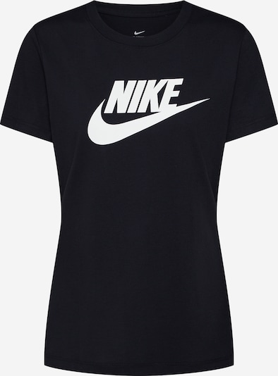 Nike Sportswear T-shirt 'FUTURA' en noir / blanc, Vue avec produit