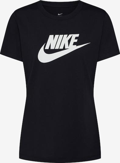 Nike Sportswear T-Krekls 'FUTURA' pieejami melns / balts, Preces skats