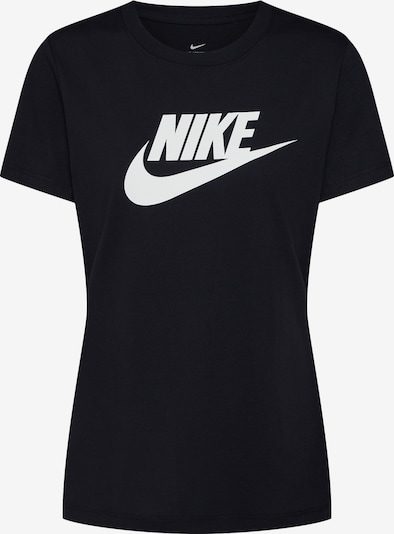 Tricou 'FUTURA' Nike Sportswear pe negru / alb, Vizualizare produs