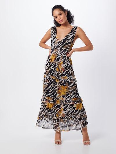 Cream Kleid 'LullaCR' in hellbraun / schwarz / weiß, Modelansicht