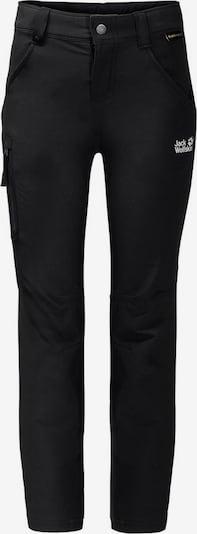 JACK WOLFSKIN Hose 'Activate' in schwarz / weiß, Produktansicht