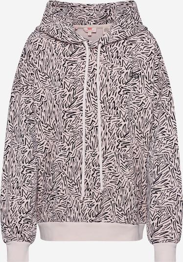 LEVI'S Sweatshirt  '2020 HOODIE' in beige / schwarz, Produktansicht