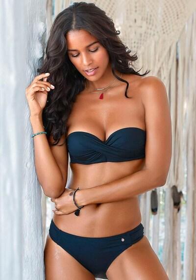 s.Oliver Bikini | črna barva, Prikaz modela