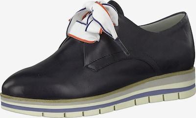 MARCO TOZZI Čevlji na vezalke | modra barva, Prikaz izdelka