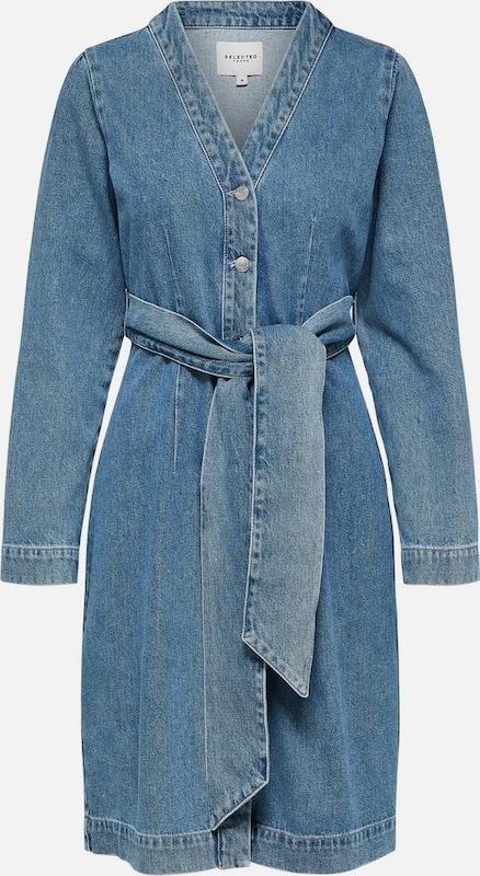 SELECTED FEMME Kleid in Blau denim  Mode neue Kleidung
