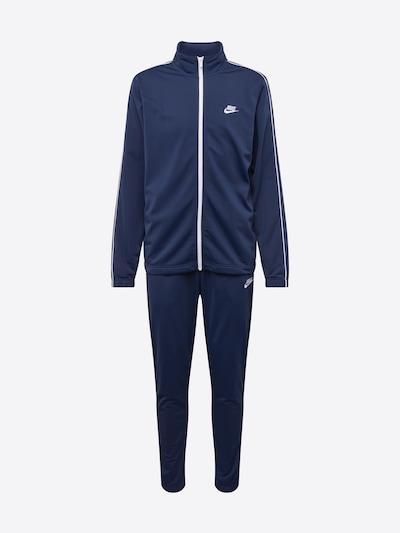Nike Sportswear Jogginganzug in dunkelblau: Frontalansicht
