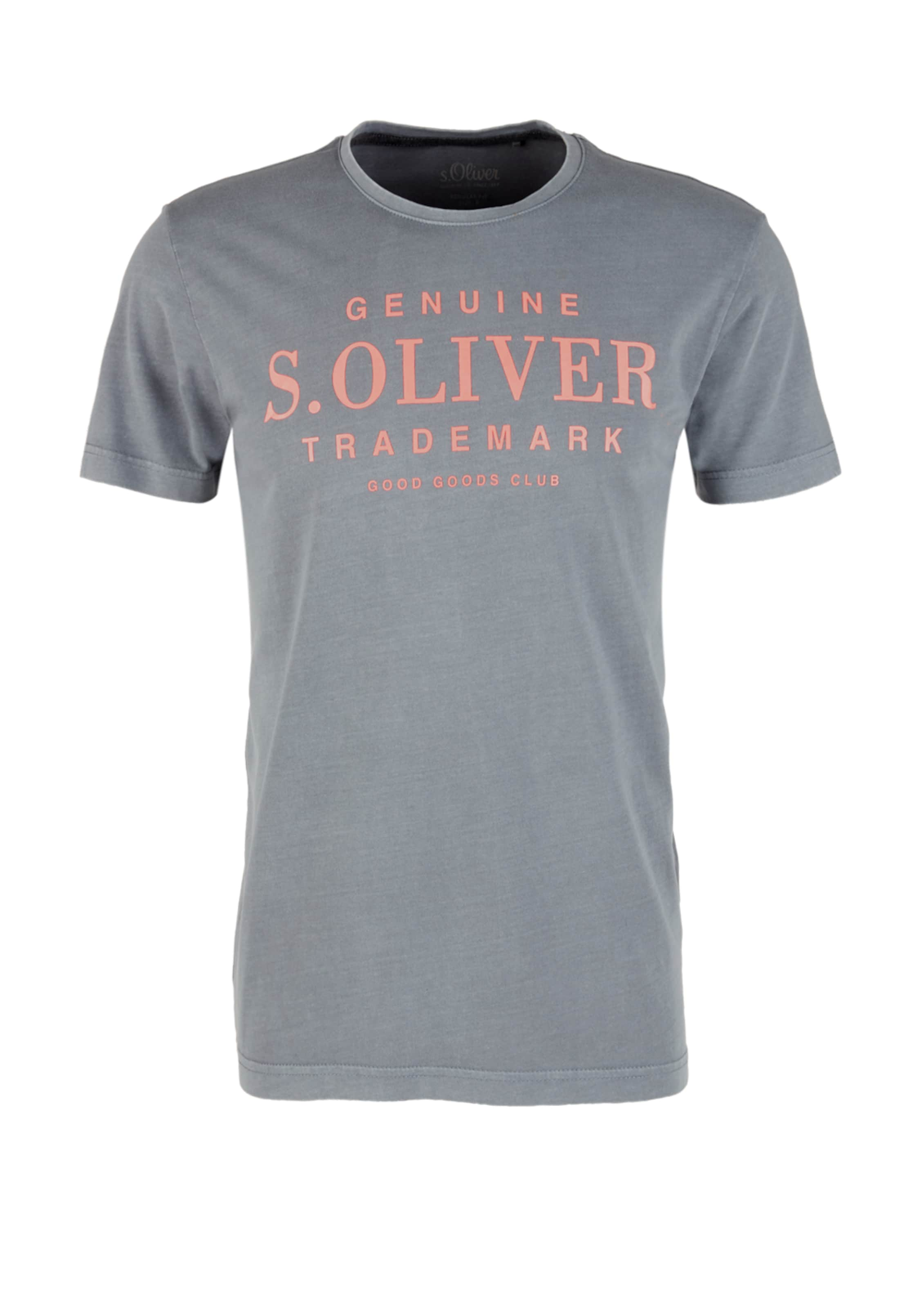 S In Jerseyshirt oliver S GrauPfirsich oliver Jerseyshirt W9HIYED2e
