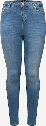 Vero Moda Curve Jeans 'Lora' in Blau