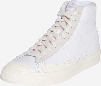 Nike Sportswear Trampki wysokie w kolorze białym: Widok z przodu