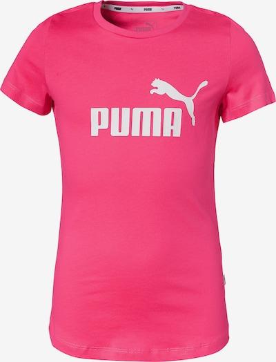 PUMA T-Shirt in pink / weiß, Produktansicht