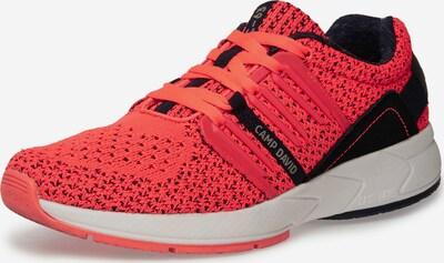 CAMP DAVID Sneaker in orange / schwarz, Produktansicht