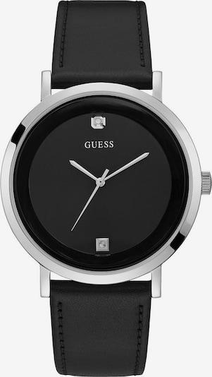 GUESS Analogové hodinky 'Supernova' - černá / stříbrná, Produkt