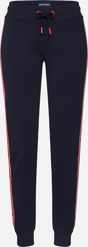Superdry Hose in navy: Frontalansicht