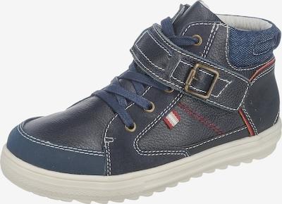 VERTBAUDET Halbschuhe für Jungen in blau / dunkelblau / rot, Produktansicht