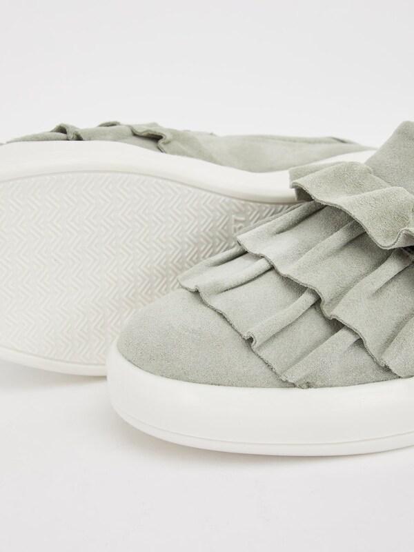 Bianco Gerüschte Sneaker