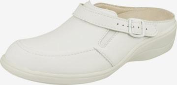 Natural Feet Pantolette 'Füssing' in Weiß