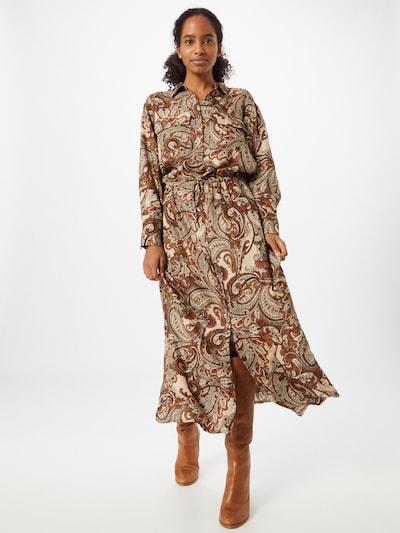 Herrlicher Kleid 'Diane' in braun / mischfarben, Modelansicht