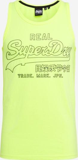 Superdry Shirt 'OUTLINE POP' in de kleur Neongeel, Productweergave