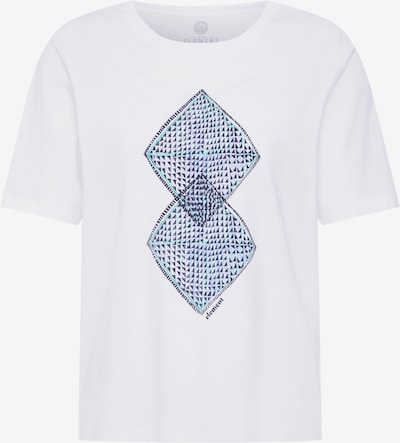 ELEMENT T-Shirt 'Abstract' in mischfarben / weiß, Produktansicht