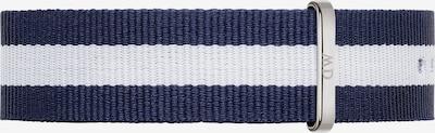 Daniel Wellington Textilband in navy / weiß, Produktansicht