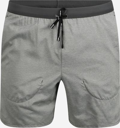 NIKE Sportbroek 'Flex Stride' in de kleur Grijs / Zwart, Productweergave