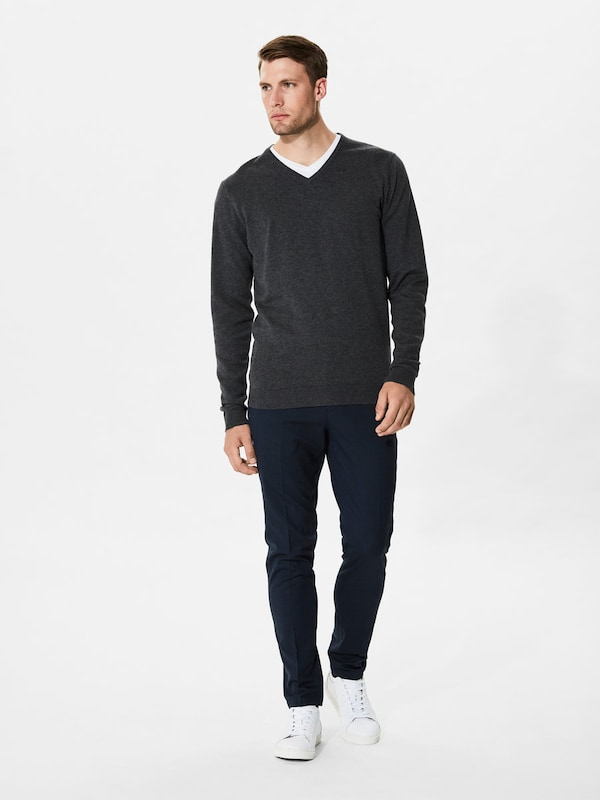 Selected Homme Are Mixed Fiber Knitted Sweaters