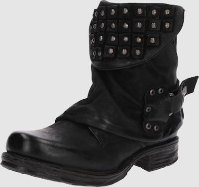 A.S.98 Boots in Zwart