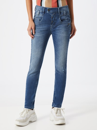 Gang Jeans 'MARGE' in blue denim, Modelansicht