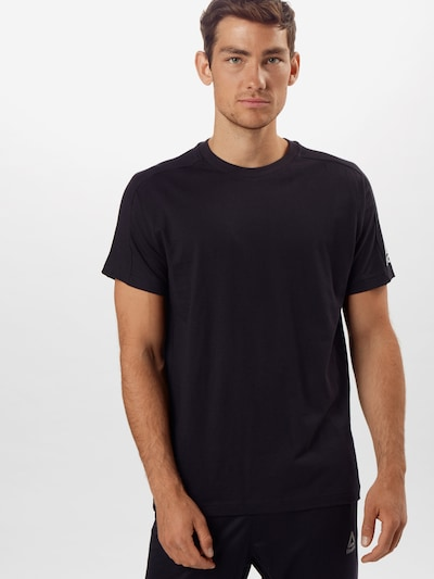 ADIDAS PERFORMANCE T-Shirt in schwarz: Frontalansicht
