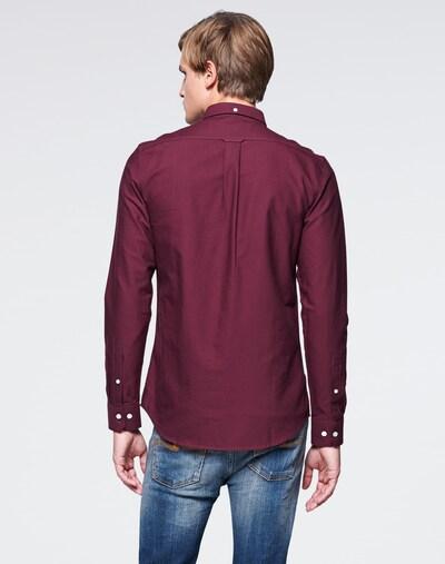 FARAH Koszula 'Brewer' w kolorze bordowym: Widok od tyłu