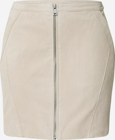 ONLY Lederrock 'onlCAMARA' in beige, Produktansicht