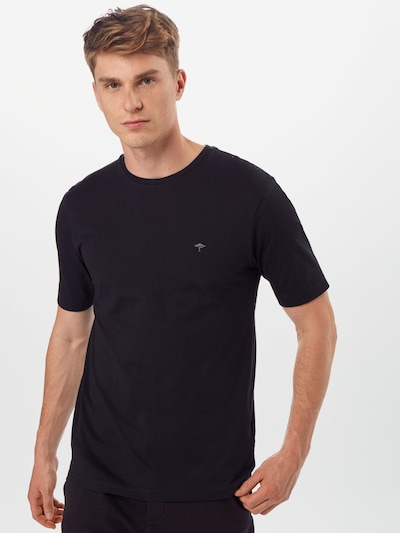 FYNCH-HATTON T-Shirt 'SNOS 1500' en noir: Vue de face